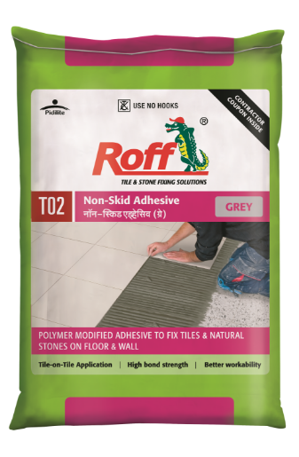 Roff Non-Skid Adhesive _ GREY (20 kg) Bag
