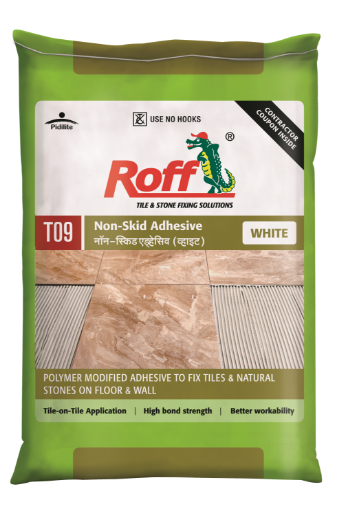 Roff Non-Skid Adhesive _ WHITE (20 kg) Bag