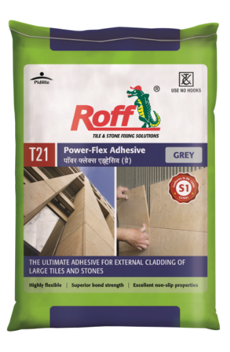 Roff Powerflex Adhesive _GREY (20 kg) Bag