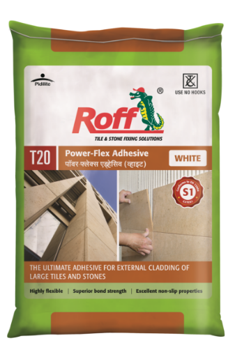Roff Powerflex Adhesive _WHITE (20 kg) Bag